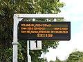 Passenger information display - diagnostic mode at Hawarden railway station (12).JPG