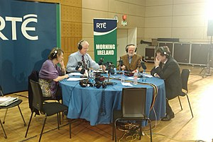 RTÉ News and Current Affairs - Various presenters of Morning Ireland