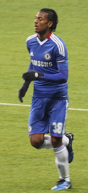 Patrick van Aanholt - Van Aanholt playing for Chelsea in 2010