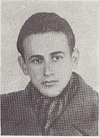 פאול צלאן בצעירותו