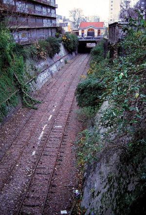 Chemin de fer de Petite Ceinture - Image: Pc charonne jms