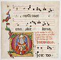 Pellegrino di Mariano. Miniature from Gradual. 1440-1460. Philadelphia, Library..jpg