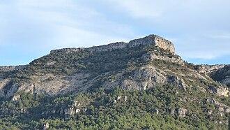 Prades Mountains - Image: Pena roja