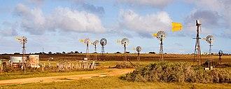 Penong, South Australia - Windmills around Penong