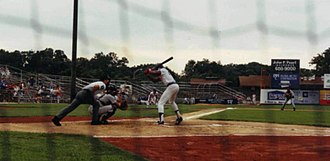 Peoria Chiefs - The Chiefs in action in 1990