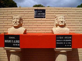 Personajes historicos Plaza MRA