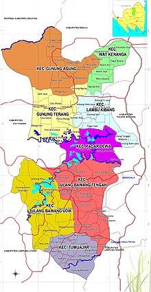 Kabupaten Tulang Bawang Barat - Wikipedia bahasa Indonesia