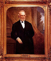 Portrait of Burnett by William F. Cogswell