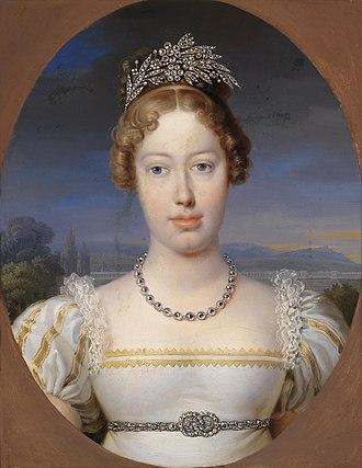 Archduchess Marie Caroline of Austria - Image: Peter Krafft Bildnis einer Maria Karolina