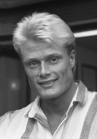 Peter Larsson (footballer, born 1961) - Image: Peter Larsson b 1961 in 1987