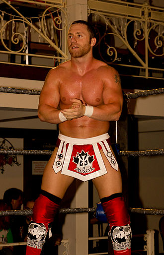 Petey Williams - Williams at an independent wrestling show in July 2012