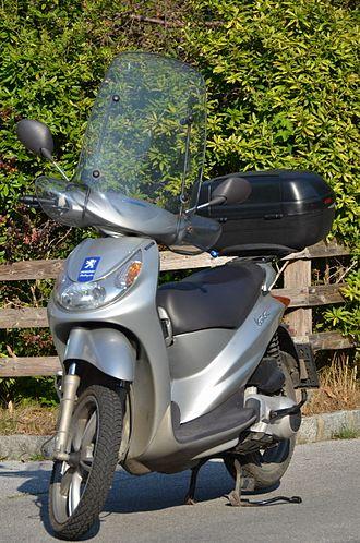 Peugeot Motorcycles - Peugeot 'Looxor 125'