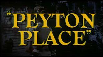 Peyton Place (film) - Image: Peyton Place 0
