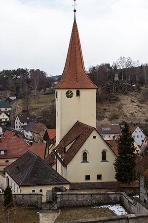 Alfeld, Bavaria - Image: Pfarrkirche Sankt Bartholomäus 04