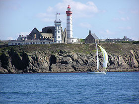 Phare de la pointe Saint-Mathieu.