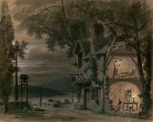 Rigoletto - Set design by Philippe Chaperon.