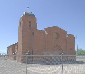 Roman Catholic Diocese of Phoenix - Sacred Heart Church built in 1900, is located in 920 S. 17th St. Phoenix, Arizona. It was added to National Register of Historic Places March 20, 2012. Reference number 12000124