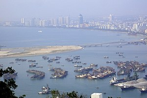 Phoenix Island early stages of construction, Sanya Bay, Hainan - 01.jpg