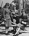Photograph of Three Marine Corps Women Reservists, Camp Lejeune, North Carolina, 10-16-1943 - NARA - 535876.jpg