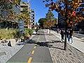 Pierre Lallement Bike Path, South End, Boston MA.jpg