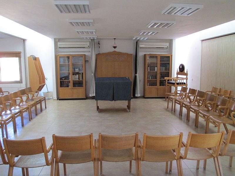 בית הכנסת בקיבוץ קטורה