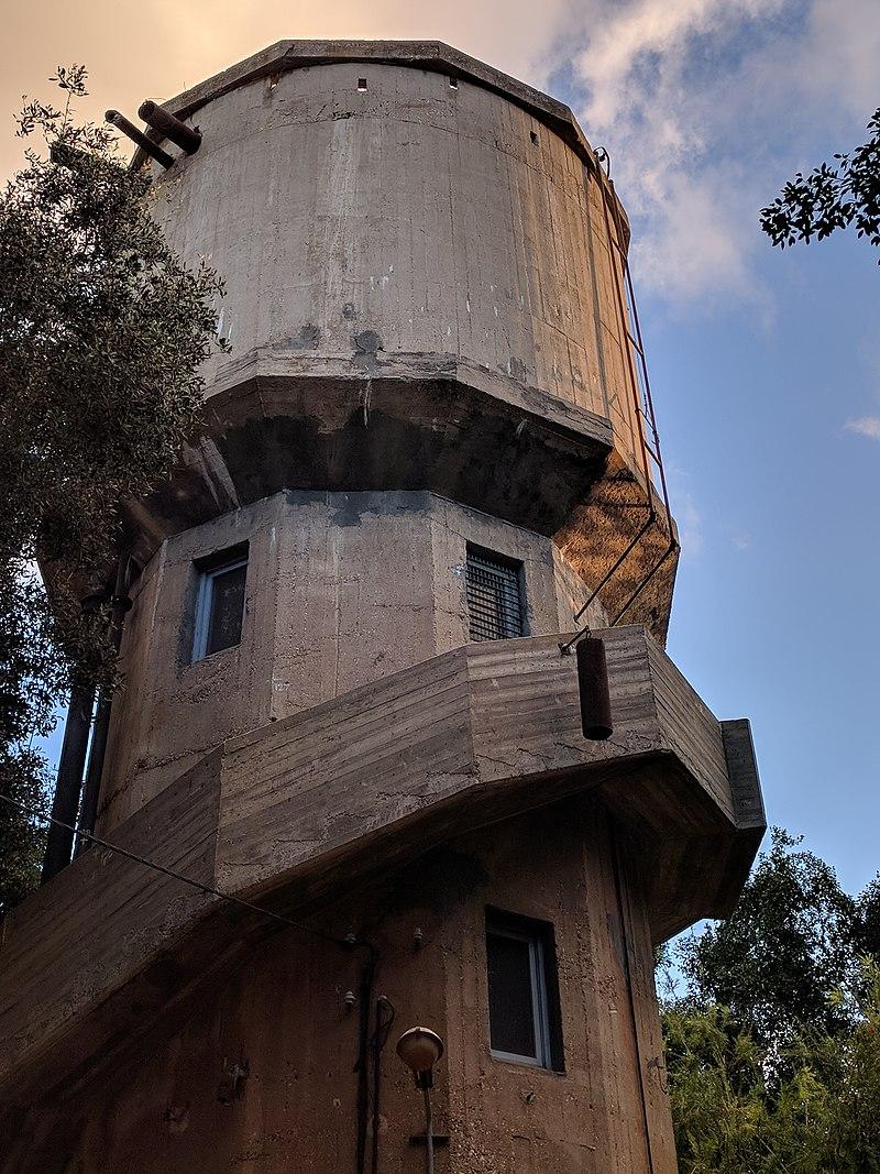 מגדל המים בכפר חיים