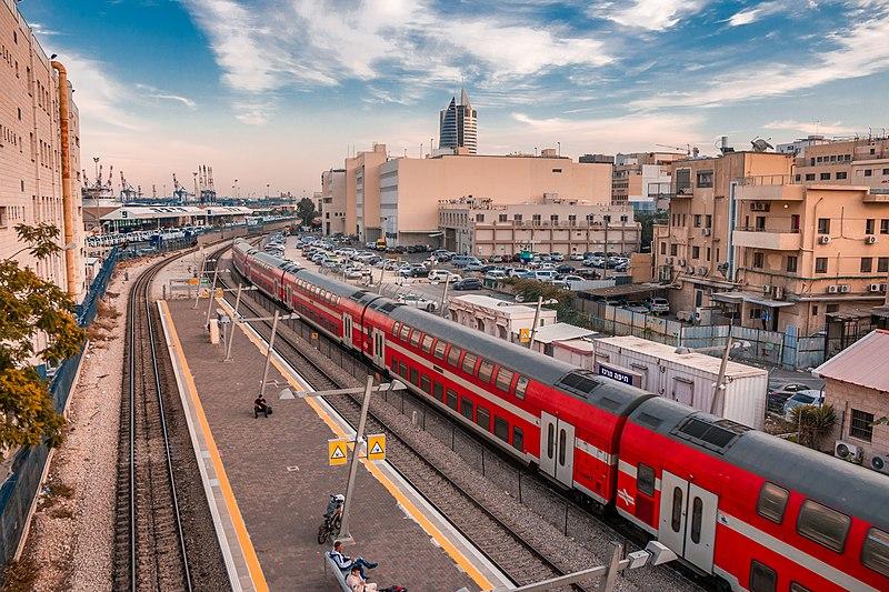תחנת חיפה מרכז - השמונה