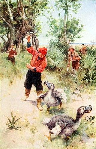 Holocene extinction image