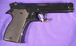 Société Alsacienne de Constructions Mécaniques - The Modèle 1935 pistol manufactured by SACM for the French Army and German occupying forces 1937-1950.