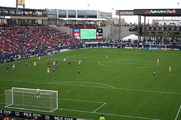 Pizza Hut Park 2006 MLS Cup.jpg