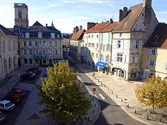 Place du Palais, Vesoul