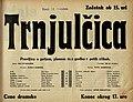 Plakat za predstavo Trnjulčica v Narodnem gledališču v Mariboru 26. decembra 1933.jpg