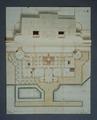 Plan över sjögård på Skoklosters slott - Skoklosters slott - 48020.tif