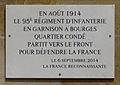 Plaque commémorative 95e RI - Bourges.jpg