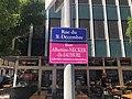 Plaque de rue temporaire Albertine Necker de Saussure à Genève 02.jpg