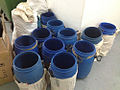 Plastic barrels for carrying raw gems from Africa to Hong Kong.jpg