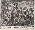 Plate 124- Hecuba and the Trojan Women Murdering Polymestor (Hecuba Polymnestori oculos ervit), from Ovid's 'Metamorphoses' MET DP866529.jpg