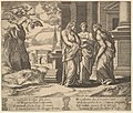 Plate 15- Psyche relating her misfortunes to her sisters, from The Fable of Psyche MET DP824483.jpg
