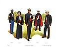 Plate V, Evening Dress Uniforms - U.S. Marine Corps Uniforms 1983 (1984), by Donna J. Neary.jpg