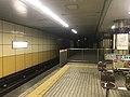 Platform of Kire-Uriwari Station.jpg