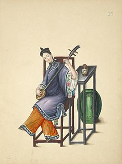 Shanku Chinese set of attire composed of a top and trousers