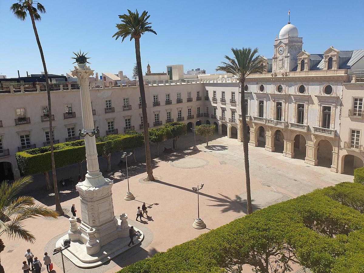 Plaza De La Constitución Almería Wikipedia La Enciclopedia Libre