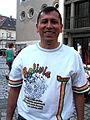 Plaza Cultural Iberoaméricana 2013, 32b04c el iniciador y organizador Pastor Salvador Terrazas Cuellar y la felicidad.jpg