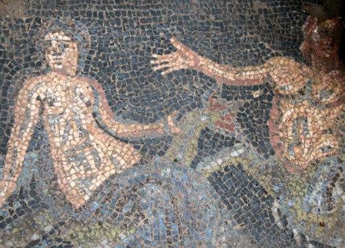 Plotinupolis mosaics Dydimoteicho Evros Greece 3
