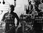 Plotting board of USS Randolph (CVA-15) during Suez Crisis 1956.JPG