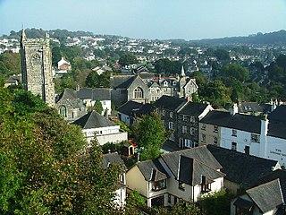 Plympton suburb of Plymouth, England