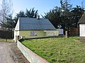 Poet's house and wayside cross, Sarsfieldstown - geograph.org.uk - 728369.jpg