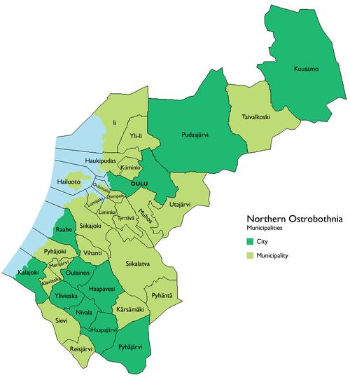Northern Ostrobothnia Wikipedia