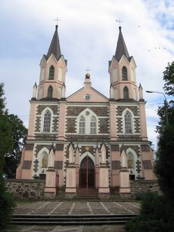 Poland Punsk church 2005.jpg