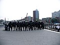 Police-chain during G20 summit in Hamburg 01.jpg
